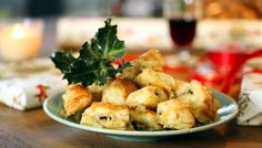 BBC One - Nigel Slater's 12 Tastes of Christmas, Episode Stilton puffs Christmas Nibbles, Christmas Cooking, Xmas Food, Christmas Goodies, Christmas Eve, Holiday, Cheese Recipes, Snack Recipes, Cooking Recipes