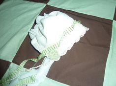 Mint Julip Bonnet Newborn Photo Prop by sewsueprops on Etsy, $25.00