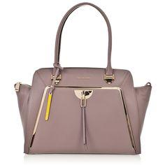 Woman Shopper Bag CROMIA ROXAN 1401901 in Cipria Pink Leather #Cromia