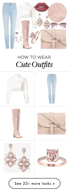 """""""Outfit 370"""" by carlou863 on Polyvore featuring River Island, Casetify, Alexandre Vauthier, sass & bide, Gianvito Rossi, M.N.G, Express and Lime Crime"""