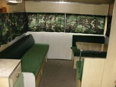 Another picture showing the condition of the 1970 Shasta travel trailer before Richard and Vicky Nash refurbished it