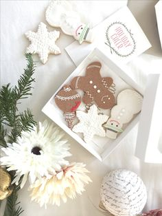 Christmas gift Ginger bread  Icing cookies  Snow man