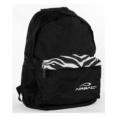 AirBac Zebra Backpack ($45) ❤ liked on Polyvore