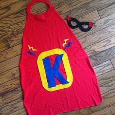 Crafty Texas Girls: No Sew-Super Hero Cape & Mask