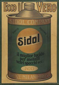 Anonimo Ecco il vero Sidol, 1929