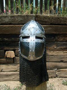 medieval helmet by ~mattmaus on deviantART