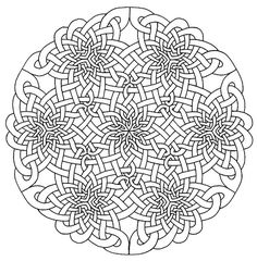 Celtic Mandala Coloring Pages - Bing Images