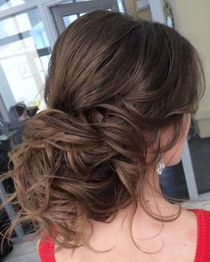 Long wedding updos and hairstyles from Elstile  #weddinghairstyle #weddingup #bridalhairstyles #wedding #weddingideas ❤️ http://www.deerpearlflowers.com/new-long-wedding-hairstyles-updos/6/