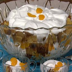 Robert Hamer Creamsicle Punch Bowl Bundt (The Chew)
