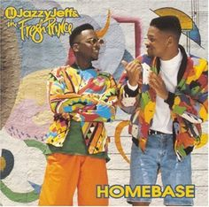 DJ Jazzy Jeff & Fresh Prince. You may know about The Fresh Prince of Bel Air (TV Show) but we choose not to remember it was based on the success of Fresh Prince's rap career. For those who don't have a clue what I'm talking about - that's Will Smith on the right. #freshprince #jazzyjeff #willsmith