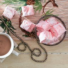 Our Best Homemade Marshmallows from Southern Living - Bourbon Caramel version at bottom of recipe