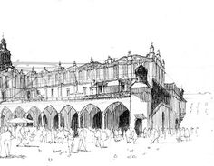 """Check out new work on my @Behance portfolio: """"Market Hall in Cracow""""…"""