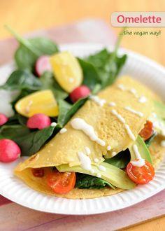 Omelette di farina di ceci ~ fiordizucca - cibo, ricette, viaggi, travel, recipes, food, italian and international