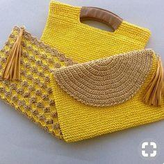 Mutlu hafta sonlari olsun...kağıt iple yapilan cantalar bi harika,kaynak pinterest##trend #cokmoda #enmoda #pazar #crochet #crochedalolla…