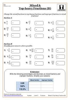 best printable maths worksheets images  gcse math number  fractions maths worksheet printable math worksheets printables math  fractions math numbers teacher