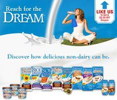 $2/1 Rice Dream printable coupon means free  rice milk at Walmart