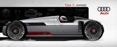 Modern Version - Auto Union Type C Concept Rendering | Nordschleife Autoblahg