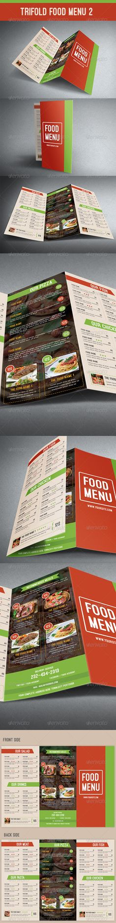 The Pastas House Menu Menu templates, Menu and Pasta - food menu template