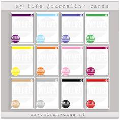 Free journal cards from Miran-Dana