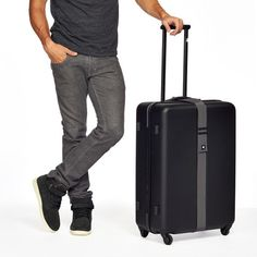 Fab Voyage Upright Suitcase Black - 60% off, on sale for 80.0, @Fab
