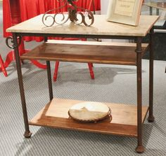 Colonnade Iron and Marble COMPACT KITCHEN ISLAND $1,225.00 47