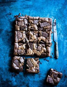 Bourbon biscuit brownies What's better than a chocolate Bourbon biscuit? Chocolate Bourbon brownies! This is one of our favourite recipes of 2016 - trust us, you'll need to make a double batch.