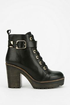To Be Announced Nutmeg Lace-Up Platform Boot #urbanoutfitters