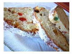 """German Christmas Stollen Recipe  """"Weihnachtsstollen"""" -   This easy German Christmas Stollen recipe is great when you're in a hurry - no yeast is used - and it tastes so-o-o-o good!"""