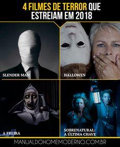 Filmes de terror que estreiam em 2018.