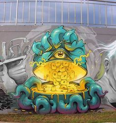 #StreetArt #UrbanArt - Four Plus (Arsek & Erase)