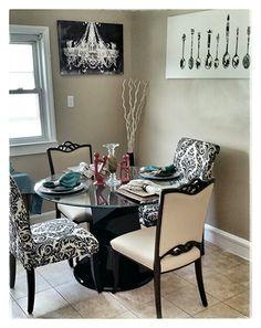 Dinning room decor.