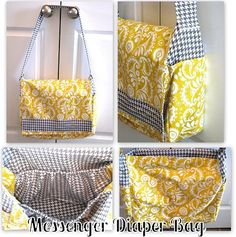 Messenger Bag Tutorial - Quick! Someone teach me to use a sewing machine!!!