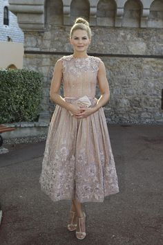 JENNIFER MORRISON IS A PRETTY-PRETTY PRINCESS IN GEORGES HOBEIKA