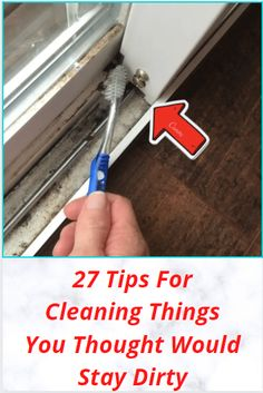 27 Tips For Cleaning Things You Thought Would Stay Dirty Amazing Life Hacks, Simple Life Hacks, Useful Life Hacks, Cleaning Items, Cleaning Hacks, Cleaning Recipes, Diy Crafts For Girls, Diy Arts And Crafts, Diy Furniture Projects