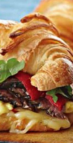 Steak and Egg Breakfast Croissant