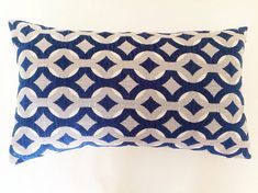 Lumbar Pillow Cushion Natural Chenille by MyBeachsideStyle on Etsy
