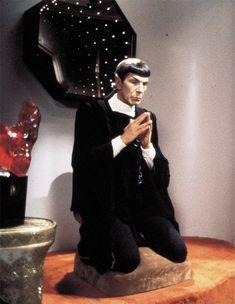 Keep Calm And Meditate - Spock, Star Trek #OriginalSeries