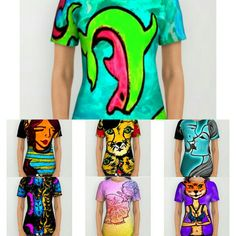 New shirt styles available at Society6.com/allibeck #art #graphicdesign #fashion #dope #trippy #abstract #design #style #cartoons #illustration #cartoon #popart #neon #digitalart #edm #rave #festival #musicfestival #festivalseason #mixedmedia #clothing #tees #raver #yoga #gym #pajamas #fitness #dolphin #cheetah #dj #sun #moon #galaxy #wolf #love #kiss #flowers #hibiscus