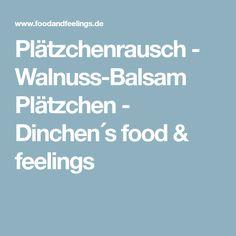 Plätzchenrausch - Walnuss-Balsam Plätzchen - Dinchen´s food & feelings
