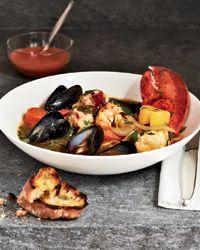 Ted Allen's Lobster Bouillabaisse
