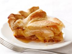 Apple Pie Recipe : Food Network Kitchen : Food Network - Fill your home with the scent of hot apple pie and your guests' plates with slices of tart apple filling inside a buttery homemade crust.