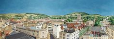 Panoramic View of Cheltenham, Gloucestershire