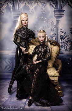 Sister Moguls Agnes and Giselle | Natalia Fashions