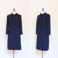 vintage 1960s Paul Blumenstein mod coat by inheritedattire