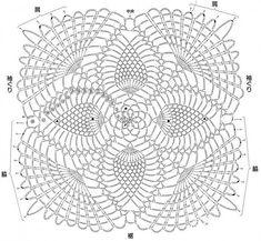 "Мотив ""Ананас"" | SexyCrochet.COM"
