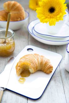 Bananen Konfitüre Yummy Breakfast Ideas, Cake Cookies, Brot, Cooking, Overripe Bananas, Spreads, Good Ideas