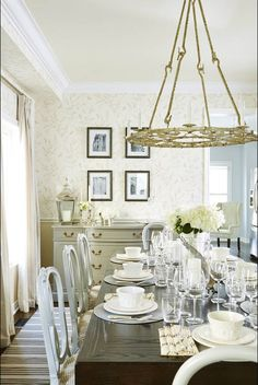 {sarah richardson dining room before & after}