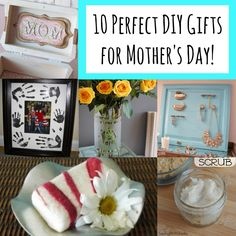 10 Perfect Gifts For Mother's Day!