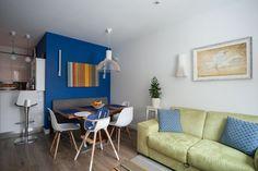 Трёхкомнатная квартира вскандинавском стиле наберегуозера . Изображение №3.