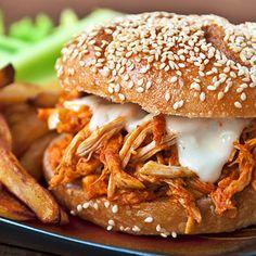 Buffalo Turkey Sandwich Recipe - Woman's Day